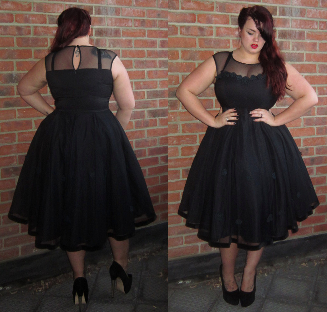 Fuller Figure Fuller Bust The Faye Dress By Collectif Clothing