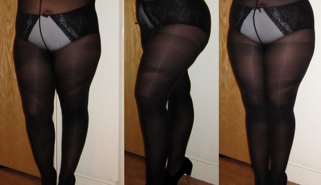 Hole ppoked in pantyhose that necessary