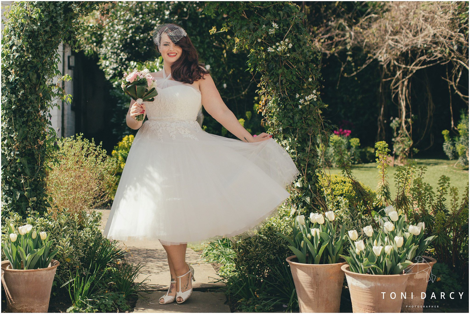 By Toni Darcy for Edith&Winston Bridalwear